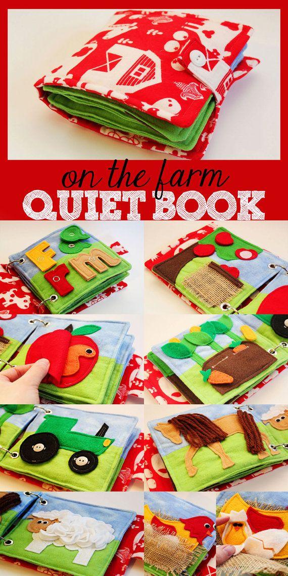 Farm Quiet Book by LifeInOurNomad on Etsy