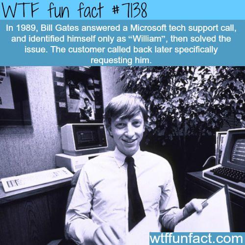 Bill Gates - WTF fun facts