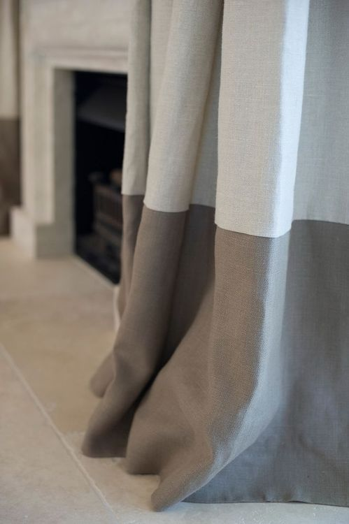 linen drapes