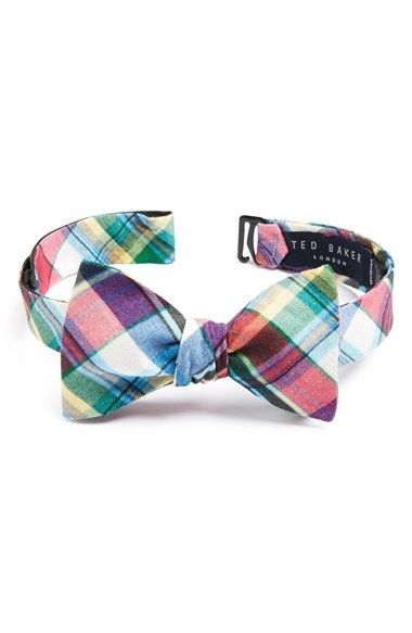 Ted Baker London Linen Bow Tie available at #Nordstrom