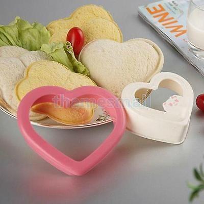 Heart Shape Sandwich Maker Cake Cookies Bread Mould Cutter DIY Lovely Bento Food