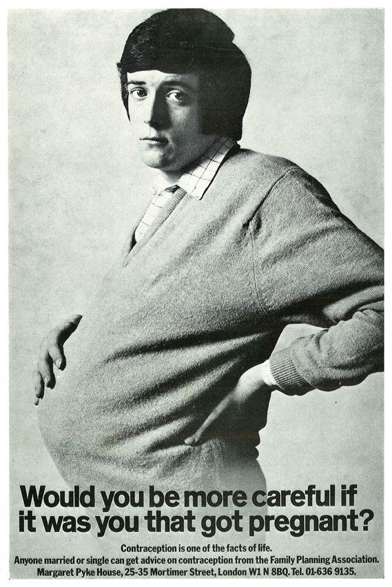 D&AD; 50: Pregnant Man, 1970