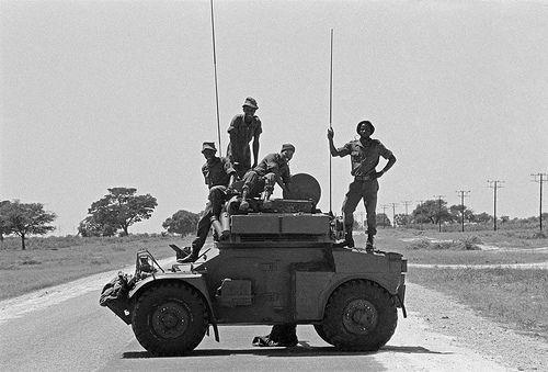 SADF Roadblock   Flickr - Photo Sharing!