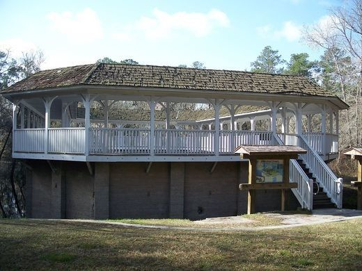 White Sulfur Springs Ruins -  The abandoned bathhouse is all that remains of the hot springs considered Florida's original tourist attraction.
