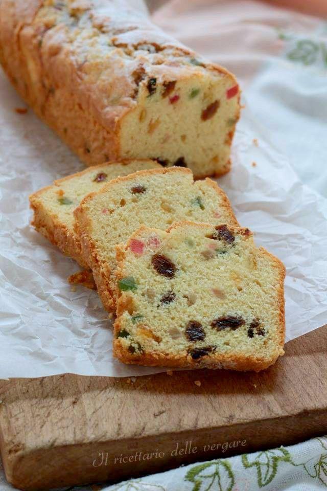 Plum-cake all\'inglese profumato | Cucina | Plumcake, Ricette ...