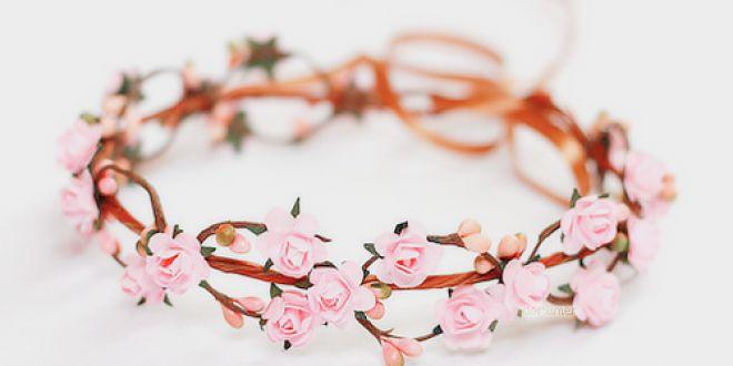 diademas de flores hippies como hacerlas , Buscar con Google