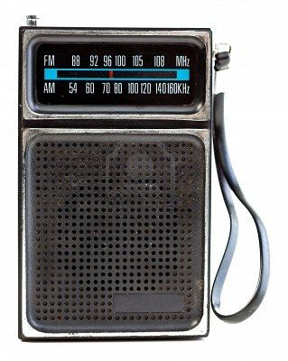 transistor radio. i put it under my pillow at night so my parents wouldn't know i was listening and not sleeping.