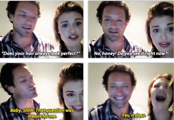 Ian Bohen and Holland Roden ~ I love them both so much!!!