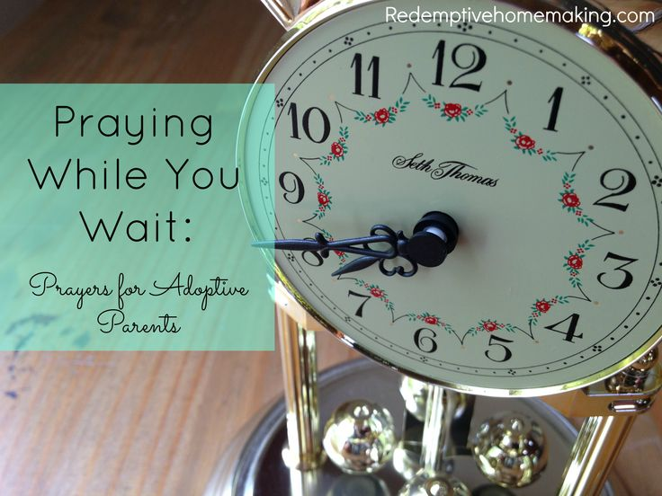 Praying While You Wait: Prayers for Adoptive Parents. For foreign language books and CDs written specifically for adoptive families visit www.adoptlanguage.com