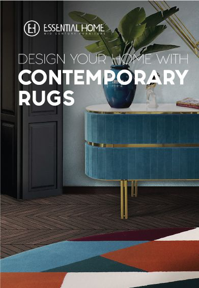 The right rug can bring life to any room! Mid-century Rugs presents to you the perfect options to give that desired look to your living space! Here, Essential Home, brings to you everything that you need to improve your project from the most exotic rug to the most excentric one, in every material from the most well known brands on interior design.