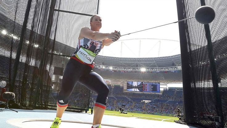Britain's Sophie Hitchon snatches bronze in hammer, world record broken