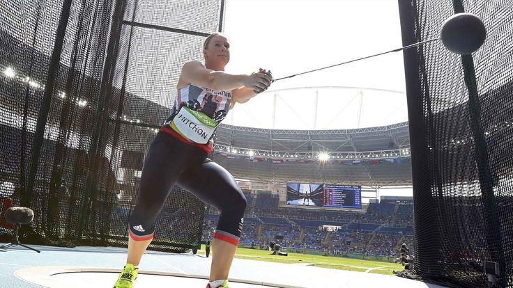 Britain's Sophie Hitchon snatches bronze in hammer, world record broken