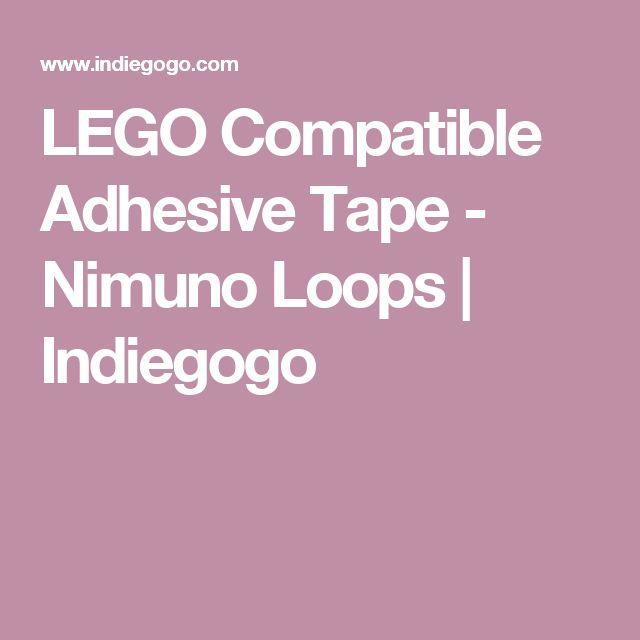 LEGO Compatible Adhesive Tape - Nimuno Loops | Indiegogo