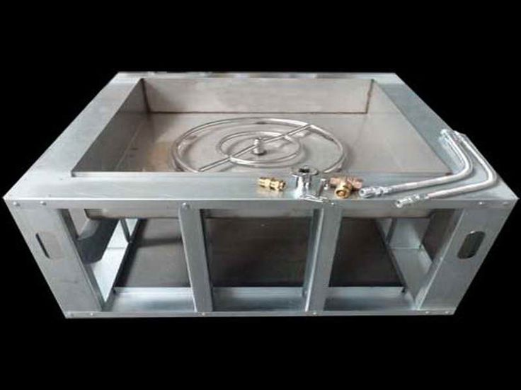 Outdoor How To Build A Gas Fire Pit Outdoor Gas Fireplace Kits Outdoor Gas Firepit Diy Outdoor Fireplace Plus Outdoors