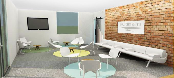 modern doctor office lobby design contemporary reception by commercial interior solutions healthcare pinterest doctors l