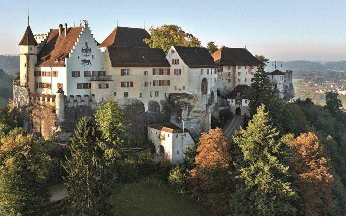 Die schönsten Burgen und Schlösser der Schweiz