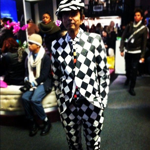 the crazy suit guy
