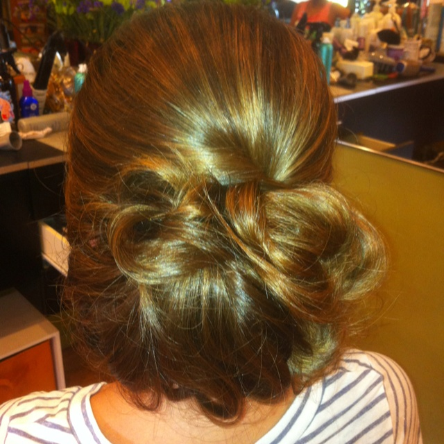 loose bun hair styles low bun created by me gorgeous wedding updos 8028 | 2fc56725aaf74a899586e814ee3a8e78