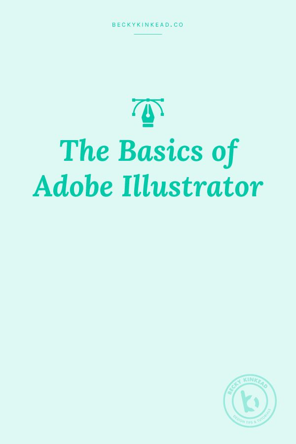 Today, I'm starting with the basics, because...that seems like a good place  to build upon!  These are the tools I use pretty much EVERY day on my design and client  projects.  Want to mater Adobe Illustrator? Click here for a comprehensive class -  PLUS get a free month of Skillshare!  Ado