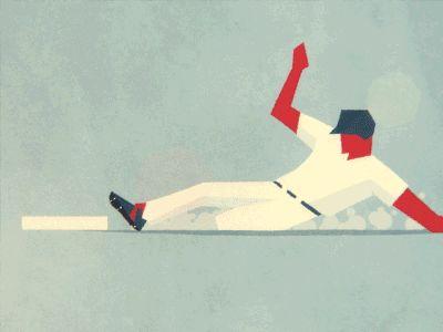 Slide into Second Base by Fraser Davidson