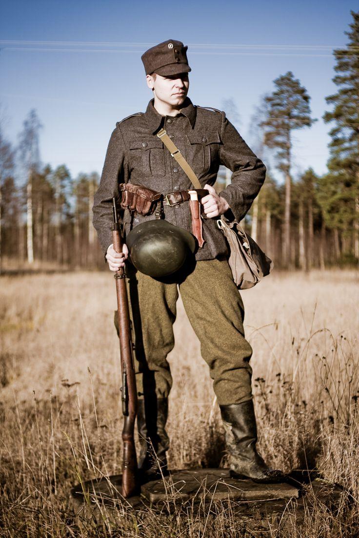 Finnish infantryman uniform