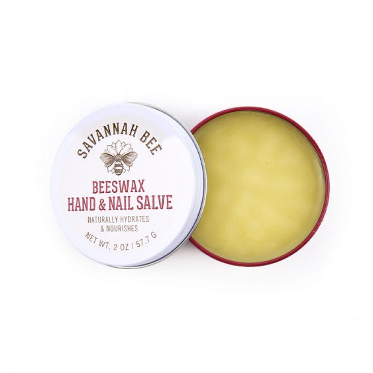 Savannah Bee Company Beeswax Hand and Nail Salve, $14.40 from Amazon.