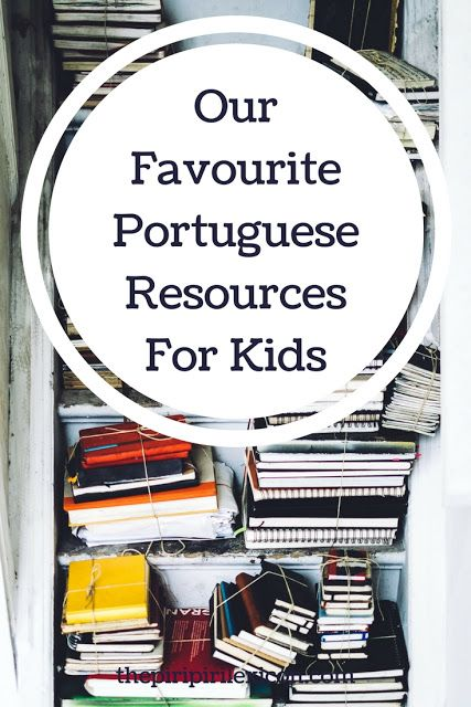 Portuguese resources for little language learners