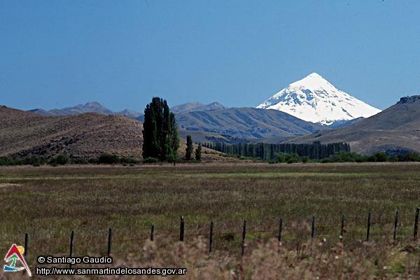 Volcán Lanín desde Junín de los Andes - San Martin de los Andes