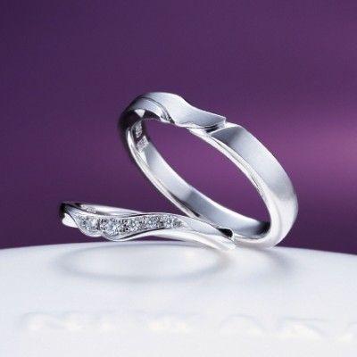 【ヤマトヤ富士店】俄 唐花(結婚指輪)(結婚指輪) ID3433