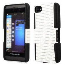 Forro BlackBerry Z10 - Doble capa - Blanco  Bs.F. 50,38