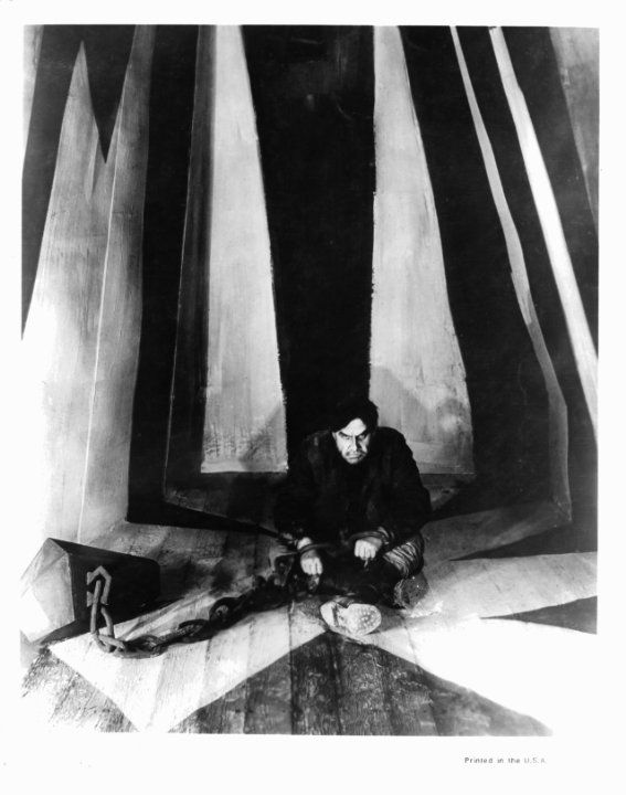 Mood.   Ludwig Rex in The Cabinet of Dr. Caligari (1920)