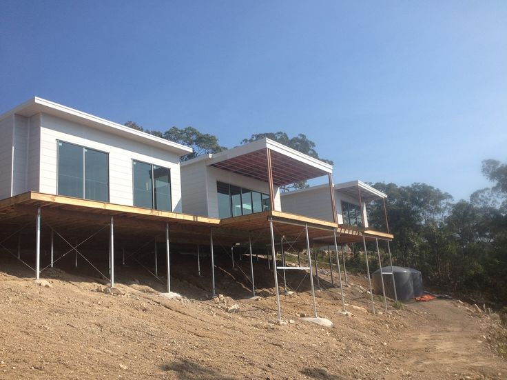 Modern client own design to take in the gorgeous ocean view completed in Yandina Creek | Tru-Built Builders Queensland