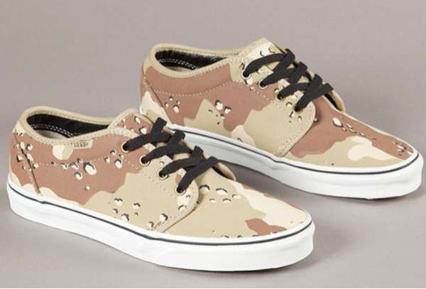 The Vans 106 Camouflage Pack is Out of Sight trendhunter.com