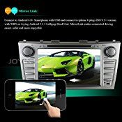 JOYING 8″ 1024600 Android 5.1 Quad Core Radio GPS Navigation Head Unit for Toyota Camry 2006 2007 2008 2009 2010 2011 Double 2 Din DVD Player Touch Screen Car Stereo with Bluetooth 1080p Mirror Link