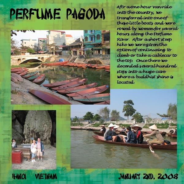 Perfume Pagoda - Scrapbook.com