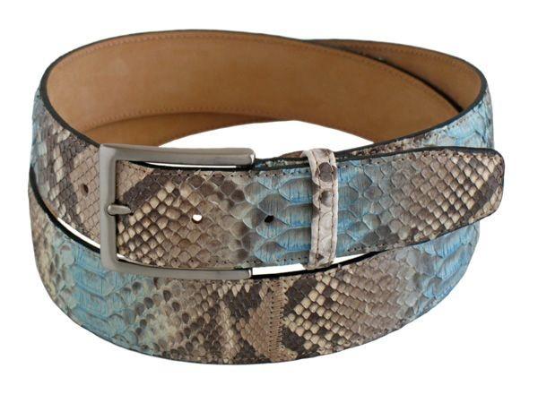 Python men's belt PIBKAU25