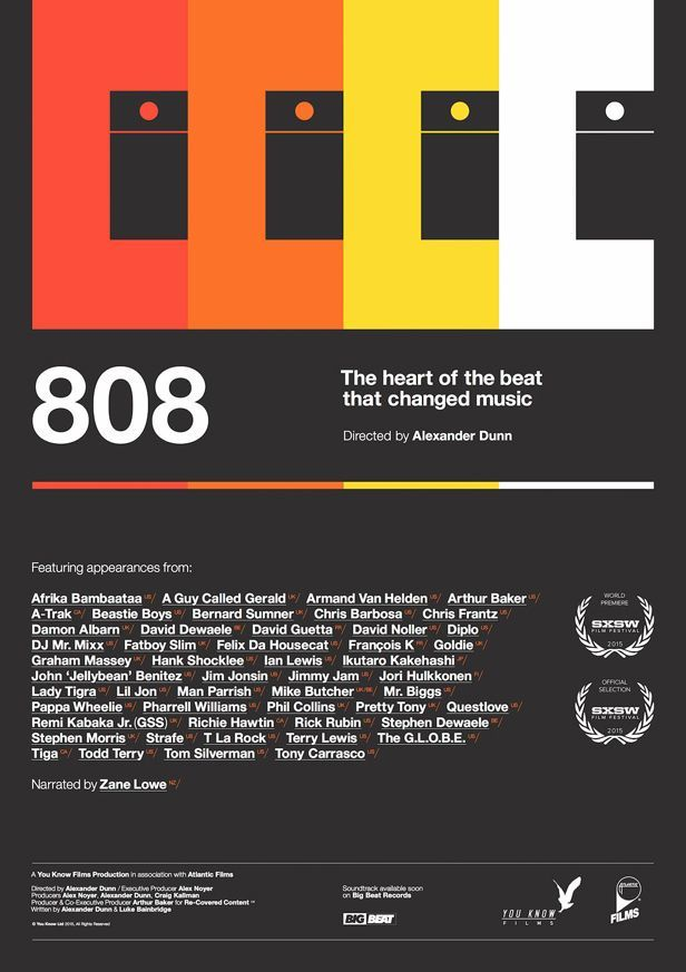 808 documentary to premiere this Friday at SXSW in 2020 | Music images, Now and then movie, Typography design