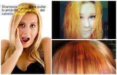 Cómo quitar el cabello naranja o amarillo después de pintarlo ~ Manoslindas.com