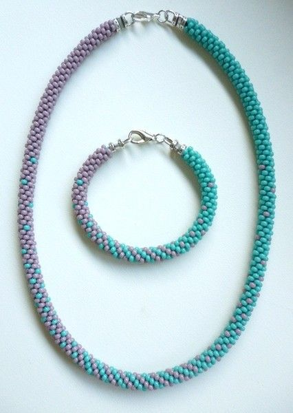Blended Pattern - Sally Bead Jewelry