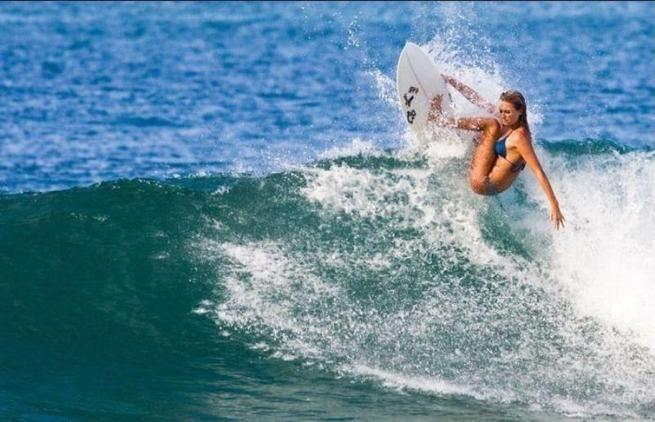 Девушки и сёрфинг