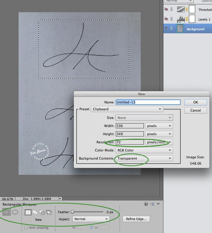how to put your signature on a photo in photoshop