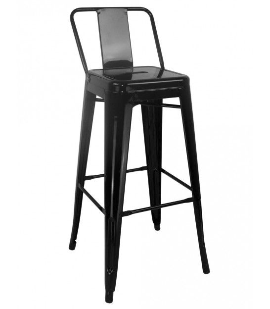 27 best tabourets de bar images on pinterest black metal bar stool sports and bar stools. Black Bedroom Furniture Sets. Home Design Ideas