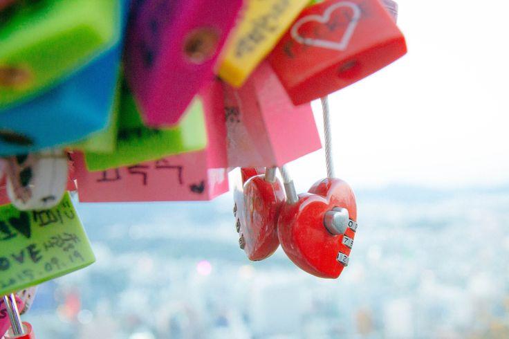 Love Locks in Seoul Towwer
