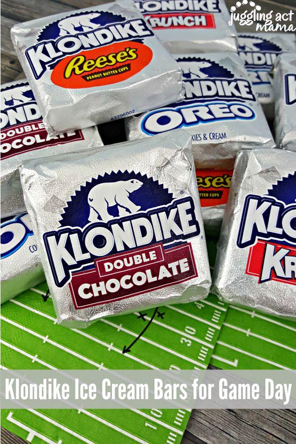 Klondike Ice Cream Bars for Game Day #KlondikeVariety #IC