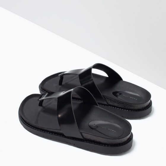 *FLAT SANDAL v. cute! BUY these if they get much cheaper. £30 @ the moment. They're actually kinda like the slippers that daddy wears! Maybe I can get some from Pakistan?