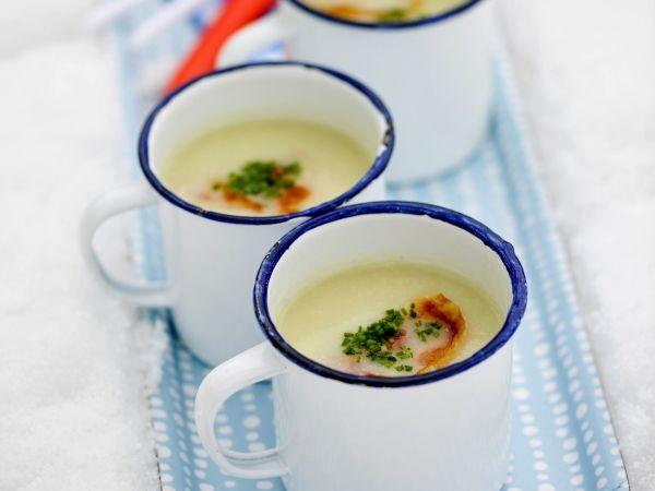 Soepje van aardpeer met pancetta - Libelle Lekker!