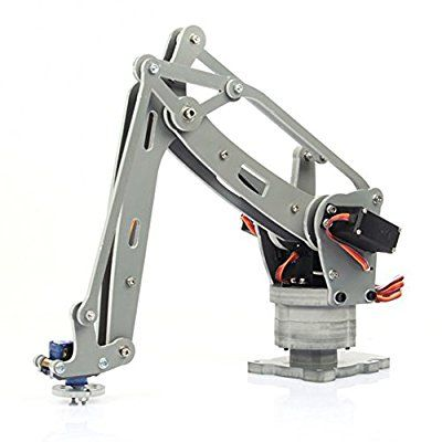 4-Axis Control Palletizing Robot Arm Model DIY w/Arduino Controller & Servos: Amazon.co.uk: Computers & Accessories