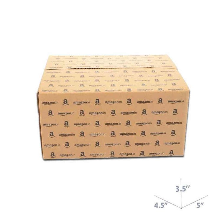 5 x 4.5 x 3.5 Amazon Corrugated Box on Sale. Shop from PackingSupply and save more!