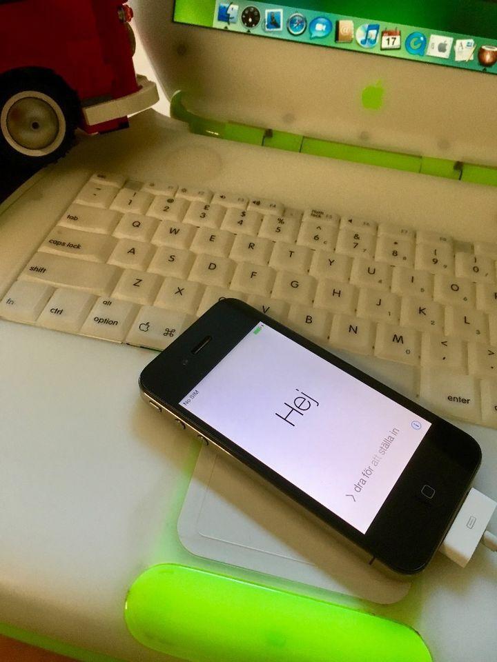 "Apple  iPhone 4 16GB -gebraucht- simlock frei - Einsteiger, Optional(""80€ VB"")"