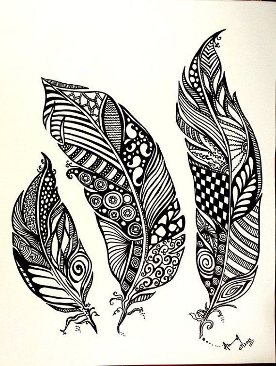 Hey, I found this really awesome Etsy listing at https://www.etsy.com/listing/158470857/abstract-artabstract-drawingfeather